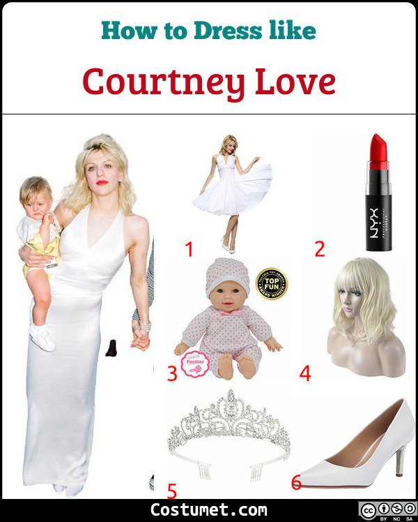 Courtney Love Costume for Cosplay & Halloween