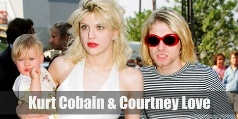 Kurt Cobain & Courtney Love Costume