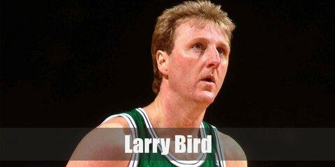 Larry Bird Costume