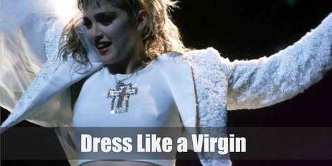 Madonna (Like A Virgin) Costume
