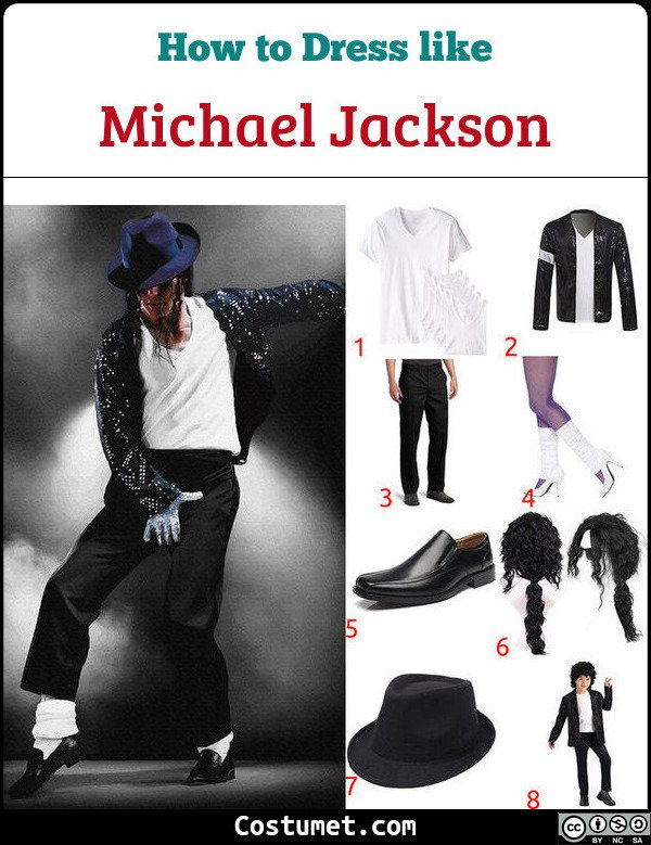 Michael Jackson Costume for Cosplay & Halloween