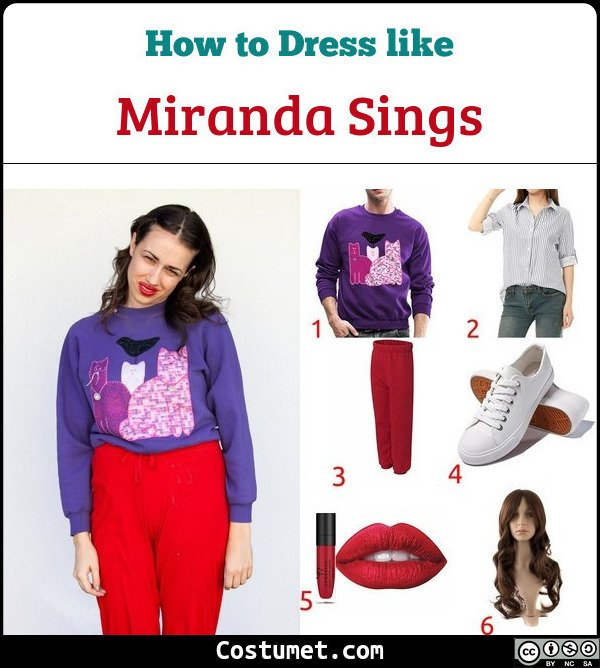 Miranda Sings Costume for Cosplay & Halloween