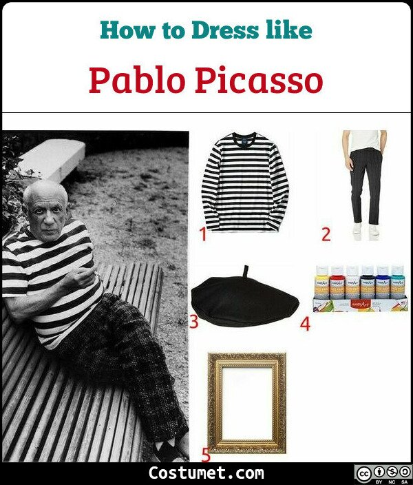 Pablo Picasso Costume for Cosplay & Halloween