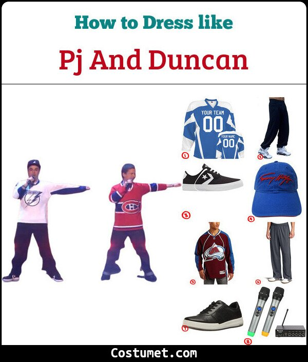 PJ & Duncan Costume Guide