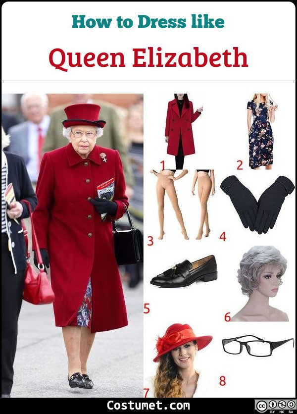 Queen Elizabeth Costume for Cosplay & Halloween