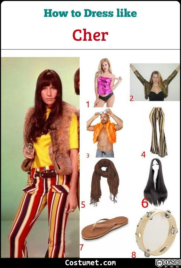 Cher Costume for Cosplay & Halloween