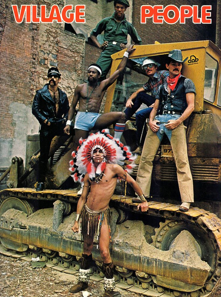 The Village People Costume for Cosplay & Halloween