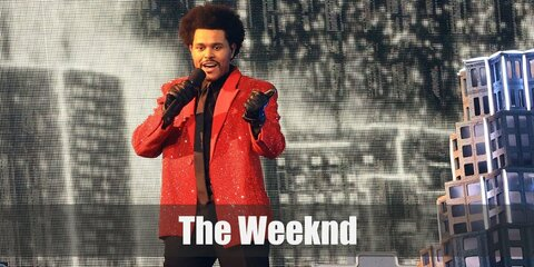 The Weeknd's Costume