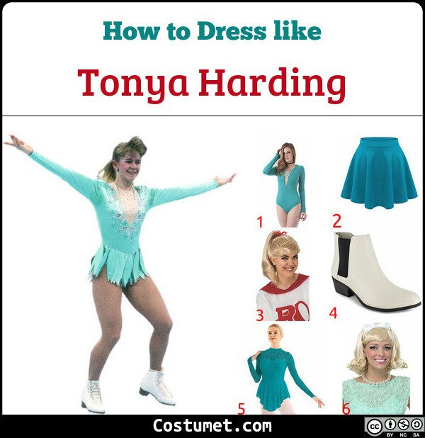 Tonya Harding Costume for Cosplay & Halloween