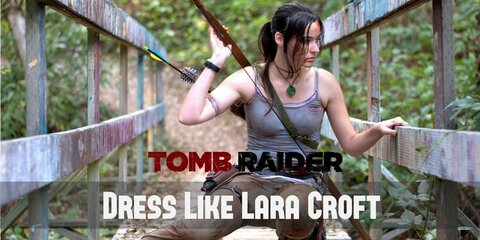 New Lara Croft (2010s) from Tomb Raider Costume