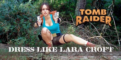 Lara Croft (1990s) from Tomb Raider Costume