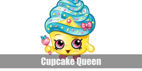 You can look like Cupcake Queen, too! All you need is a yellow top, a light blue tutu, pink Mary Janes, and a nice blue tiara.