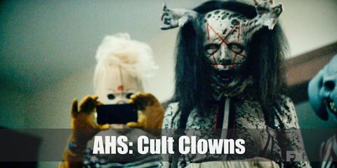 American Horror Story Cult Clowns Costume