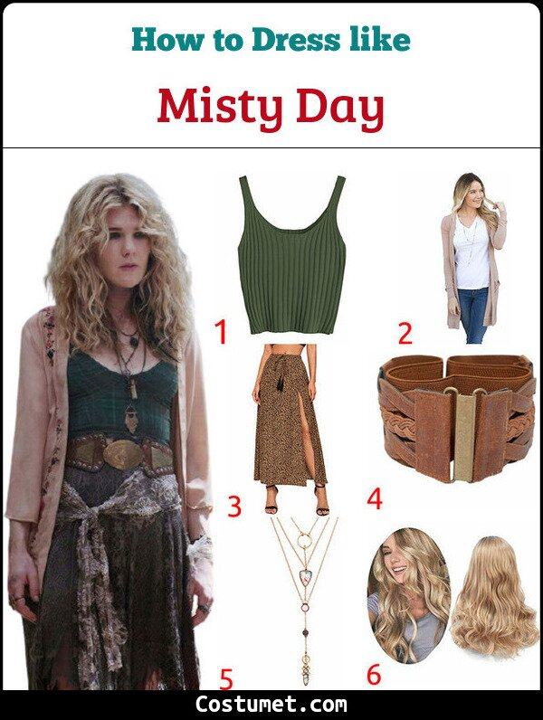 Misty Day Costume for Cosplay & Halloween