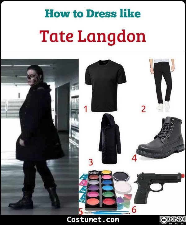 Tate Langdon Costume for Cosplay & Halloween