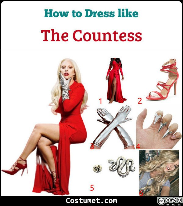 The Countess Costume for Cosplay & Halloween