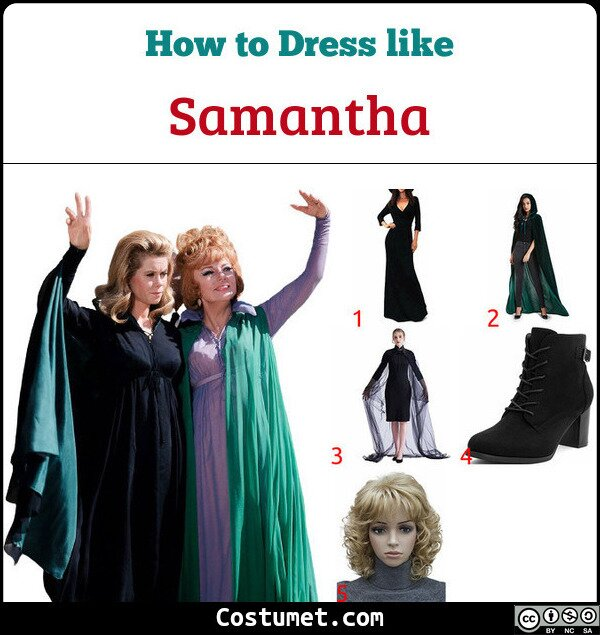 Samantha Costume for Cosplay & Halloween
