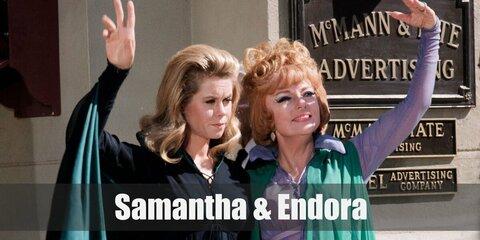 Samantha & Endora (Bewitched) Costume