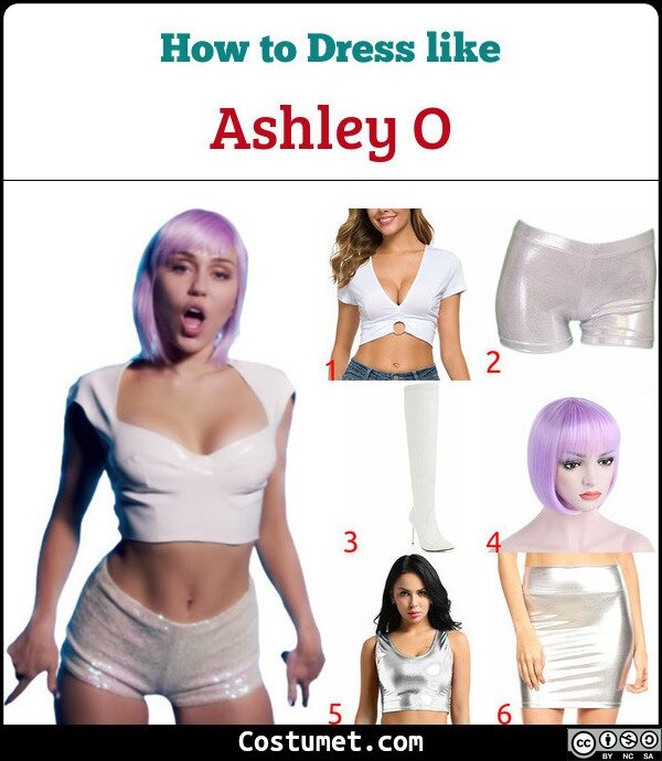 Ashley O Costume for Cosplay & Halloween