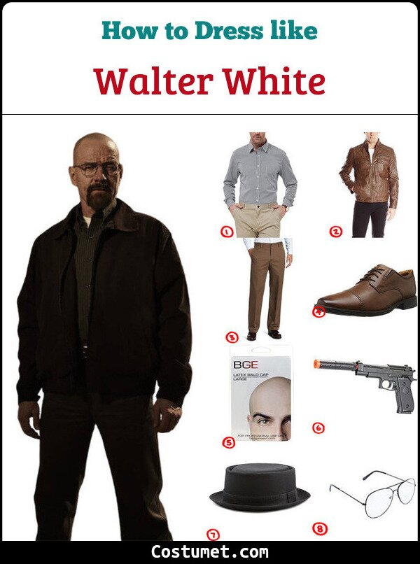 Walter White Costume for Cosplay & Halloween