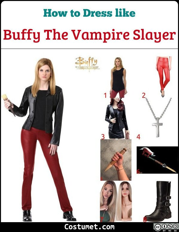 Buffy The Vampire Slayer Costume for Cosplay & Halloween