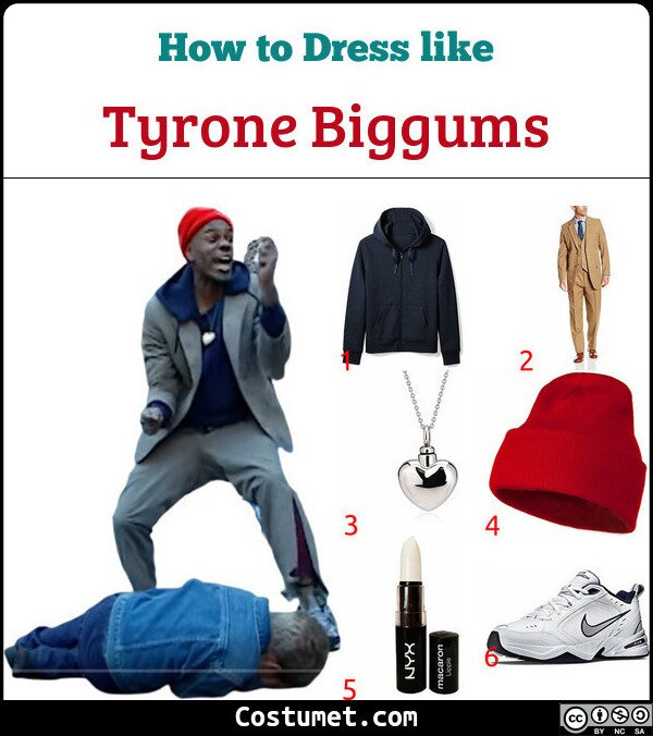 Tyrone Biggums Costume for Cosplay & Halloween