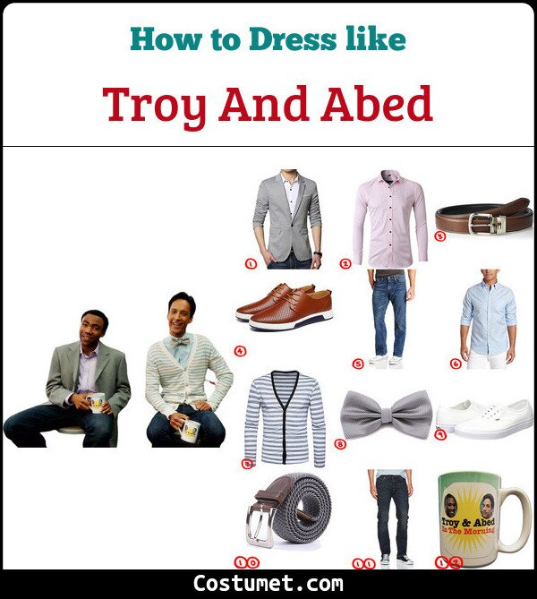 Troy & Abed Costume Guide