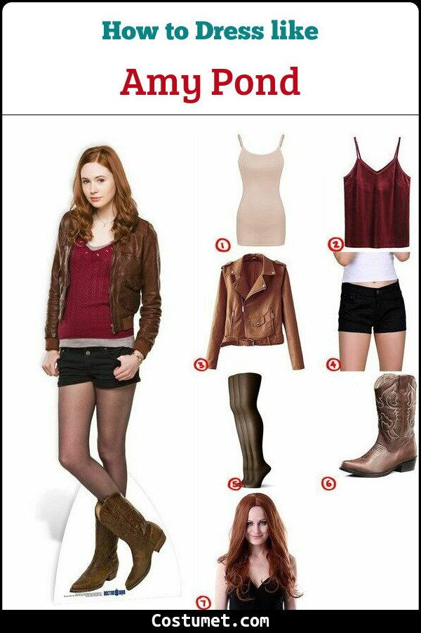 Amy Pond Cosplay & Costume Guide