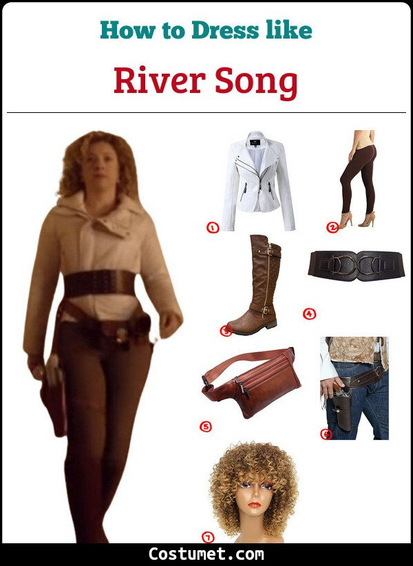 River Song Cosplay & Costume Guide
