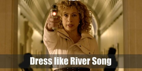River Song from Doctor Who Costume