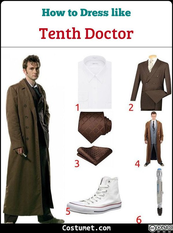 Tenth Doctor Costume for Cosplay & Halloween