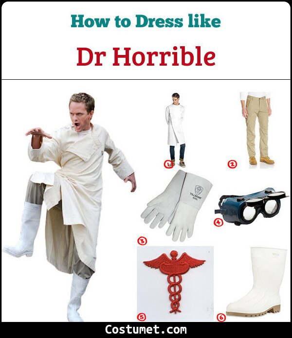 Dr Horrible Cosplay & Costume Guide