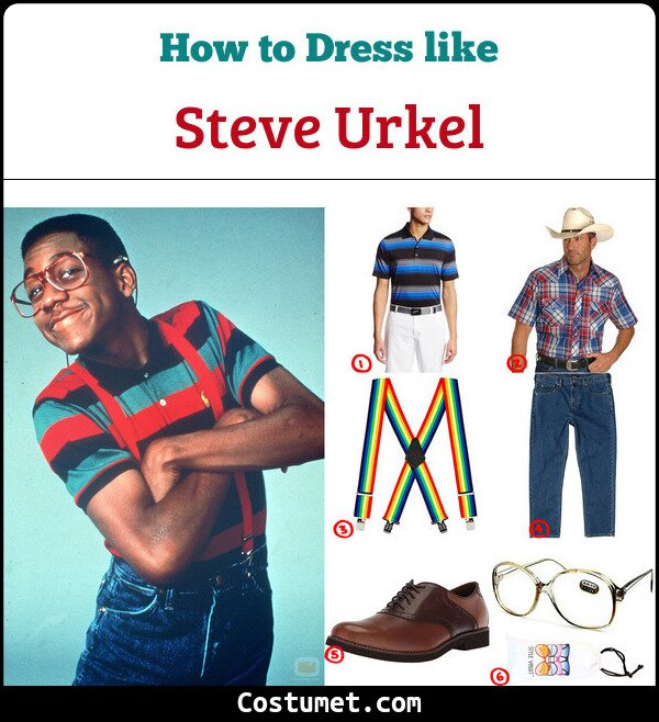 Steve Urkel Cosplay & Costume Guide