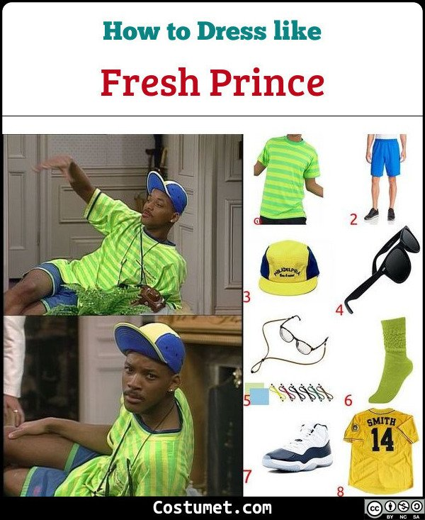 41341e47f15c59 Dress like Fresh Prince of Bel-Air Costume for Cosplay   Halloween