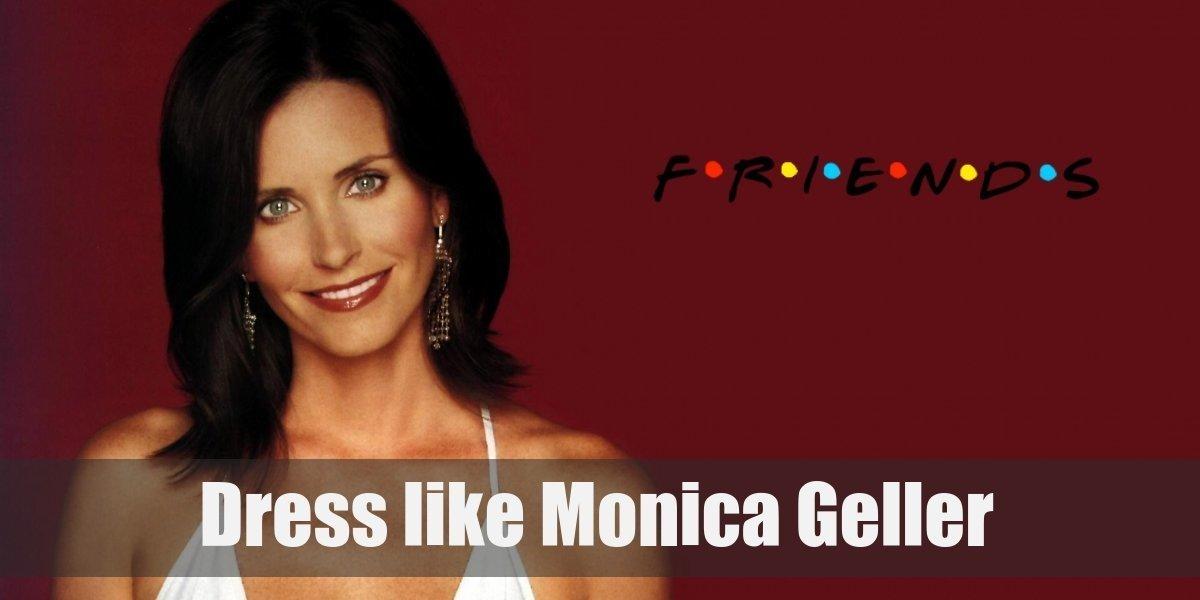 Dress Like Monica Geller from Friends Costume for Cosplay   Halloween 6cf36c1a8d