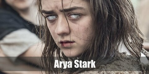 Arya Stark's iconic riding and warrior costume can be recreted with a brown long sleeved shirt and vest. Style it with a belt and carry a toy sword around it.