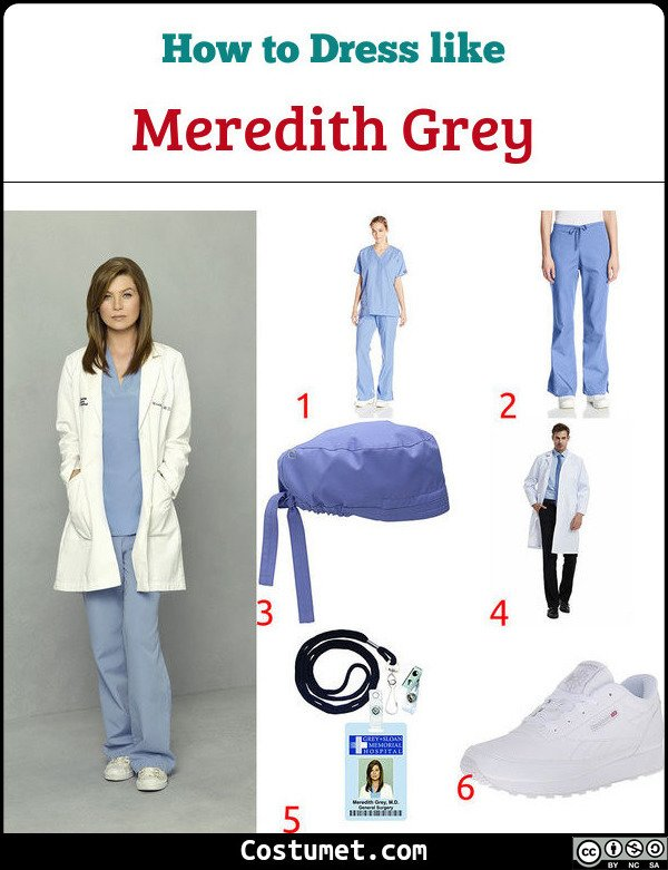 Greys Anatomy Costume for Cosplay & Halloween