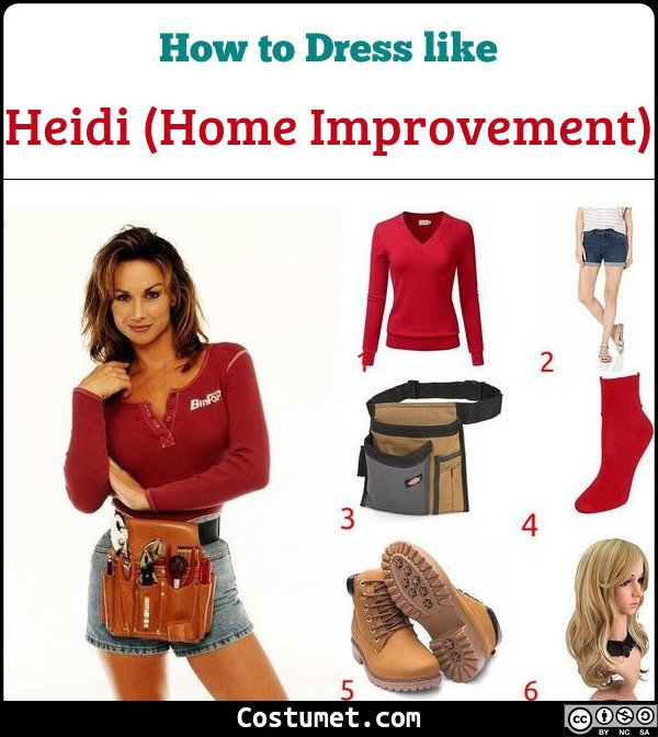 Heidi (Home Improvement) Costume for Cosplay & Halloween