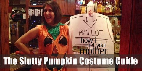 The Slutty Pumpkin Costume (How I Met Your Mother)