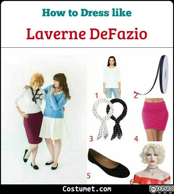 Laverne DeFazio Costume for Cosplay & Halloween