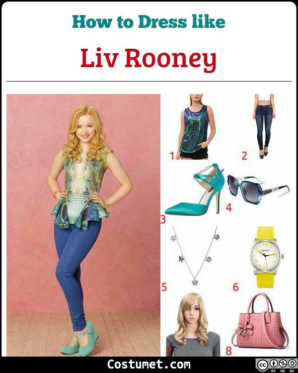 Liv Rooney Costume for Cosplay & Halloween