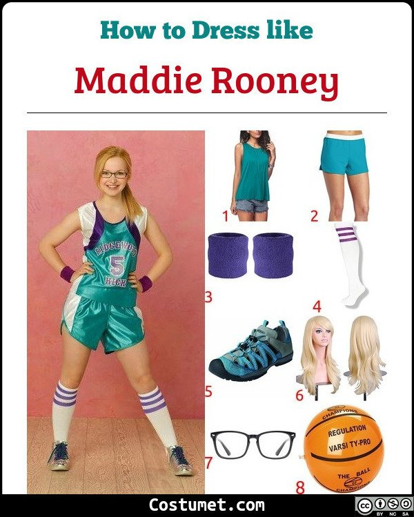 Maddie Rooney Costume for Cosplay & Halloween