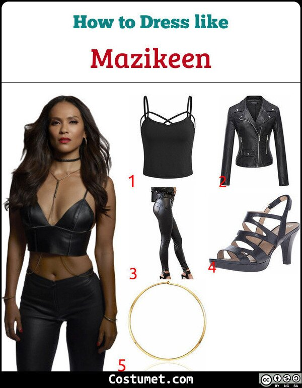 Mazikeen Costume for Cosplay & Halloween