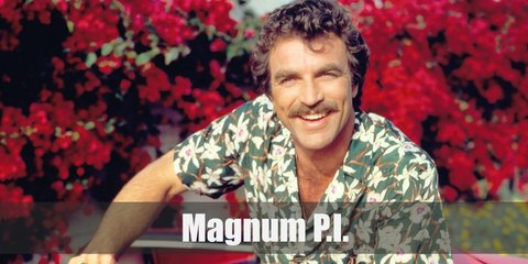 Magnum is a highly skilled Private Investigator. Thomas Magnum famous costume is his Hawaiian, beach-inspired getup.