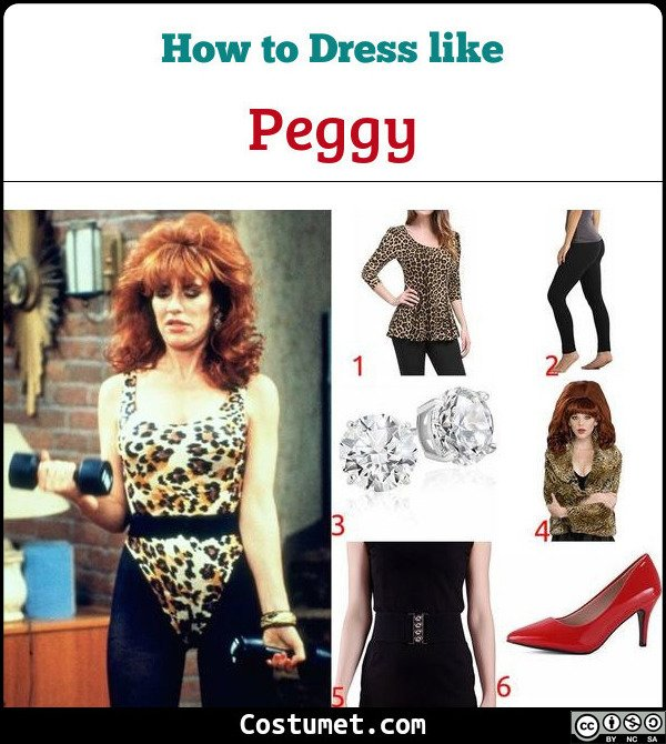 Peggy Married With Children Costume for Cosplay & Halloween