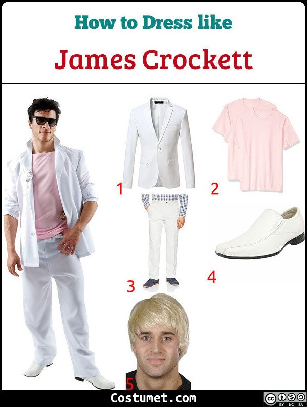 Miami Vice Costume for Cosplay & Halloween
