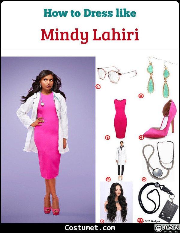 Mindy Lahiri Costume for Cosplay & Halloween