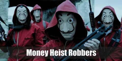 Money Heist/La Casa de Papel Robber Costume