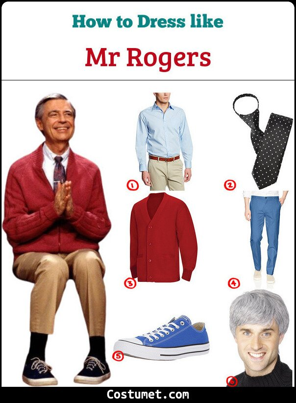 Mr Rogers Cosplay & Costume Guide