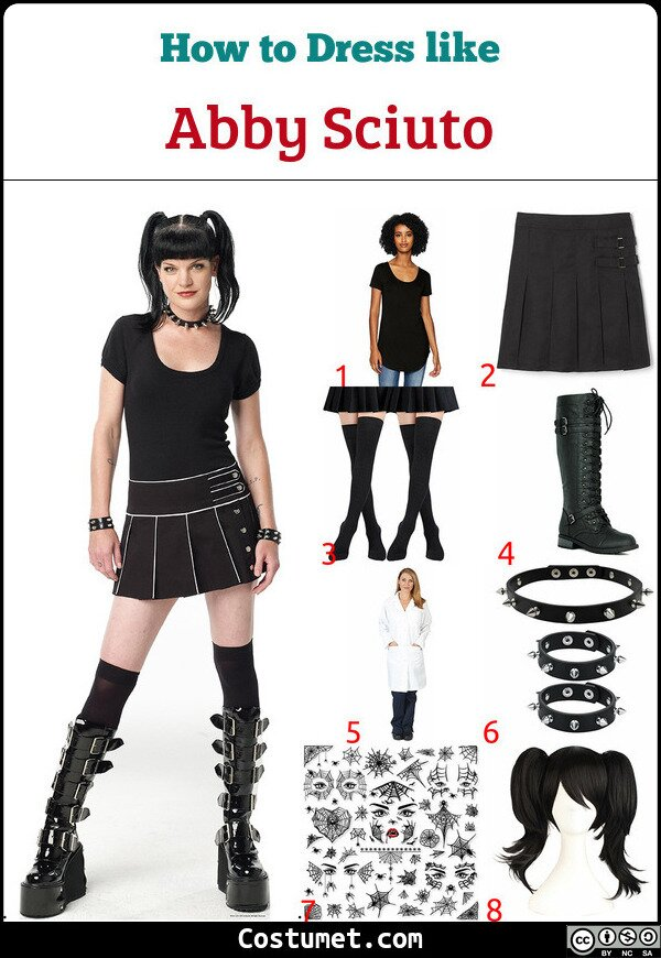 Abby Sciuto Costume for Cosplay & Halloween